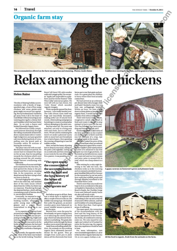 Farm Stay in the UK, holiday, vacation