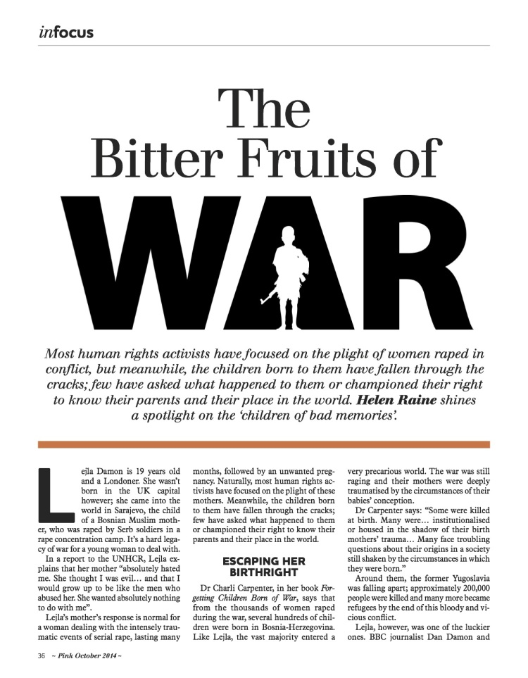 The Bitter Fruits of War