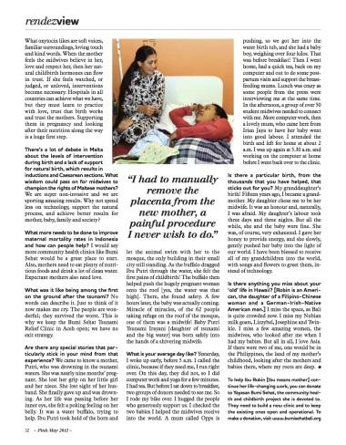 Robin Lim - healthcare and birth