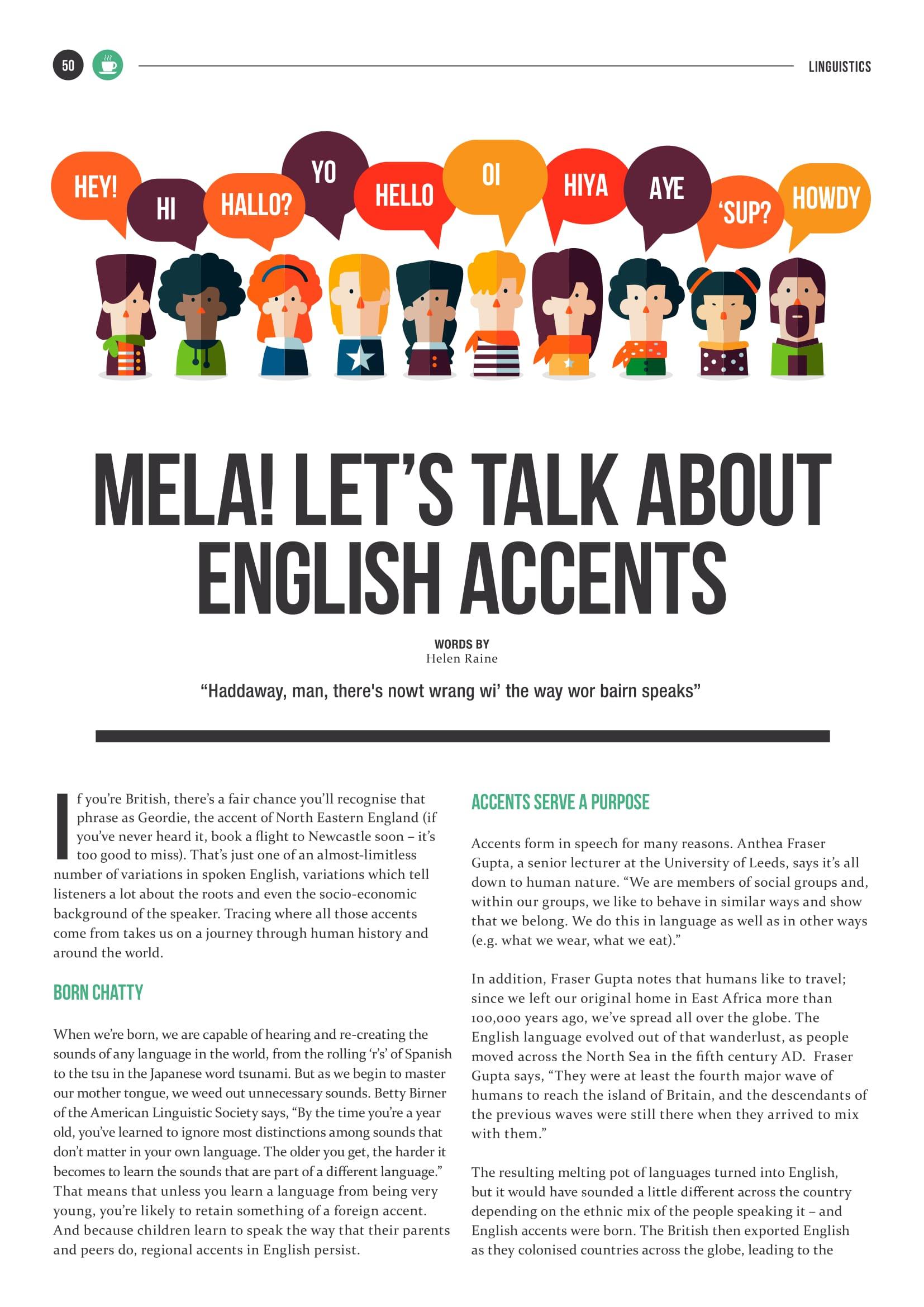 The Maltese English Accent   Helen Raine