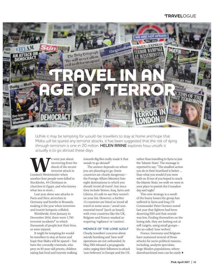 Travel in the Age of Terror-1