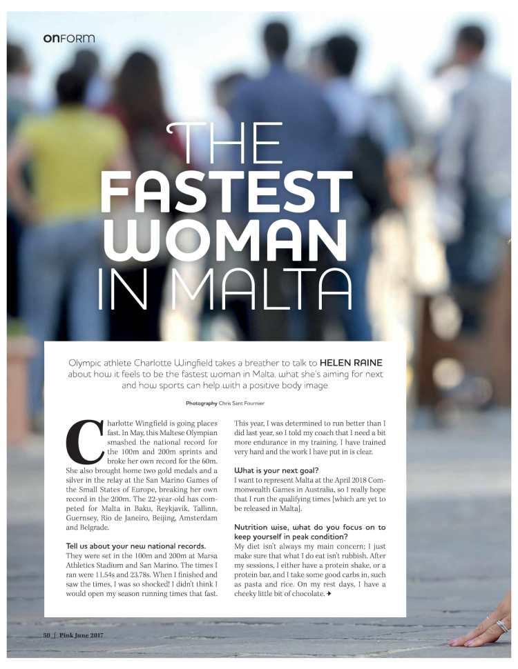 fastest woman in malta-1