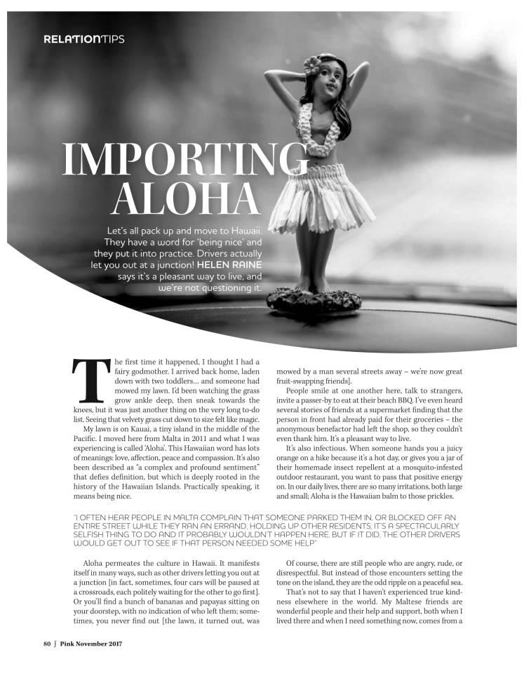 Pink_November2017_Issue157 aloha 1-1