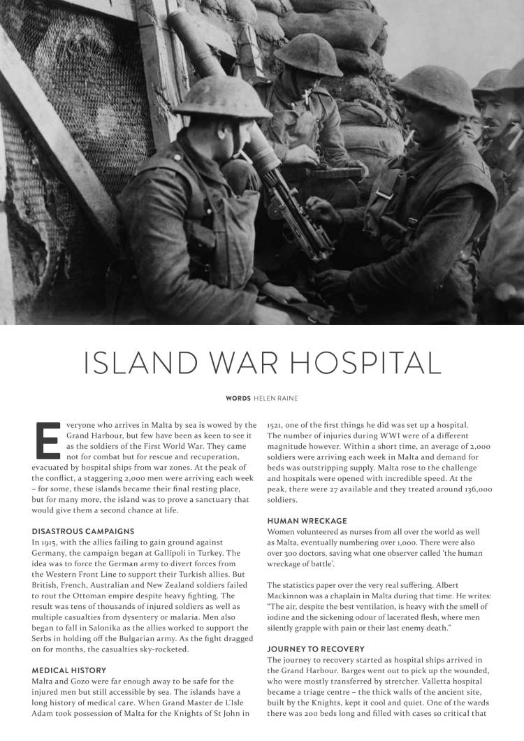 WW1 hospital in Malta-1